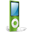 iPod Nano green on-128