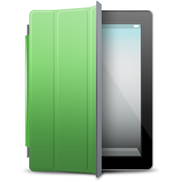 iPad 2 black green cover