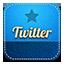 Twitter retro Icon