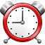 Alarm toolbar icon