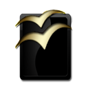 OpenOffice Black and Gold-128
