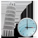 Tower of Pisa Clock-128