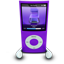 Purple iPod Nano icon