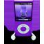 Purple iPod Nano Icon