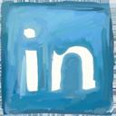 Linkedin hand drawn