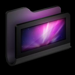 Desktop Black Folder