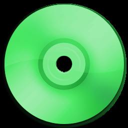Cd DVD Green