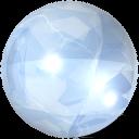 Crystal sphere-128