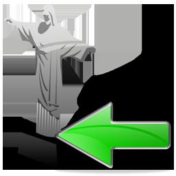 Christ the Redeemer Back