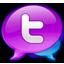Large Twitter Logo icon