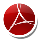 Round Adobe Reader