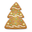 Christmas Tree Cookie Icon
