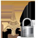 Eiffel Tower Lock-128