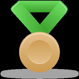 Metal bronze green