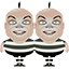 Tweedle Twins Icon