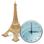 Eiffel Tower Clock icon
