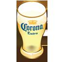 Corona beer glass-128