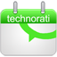 Technorati Calendar icon