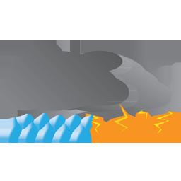 Storm weather