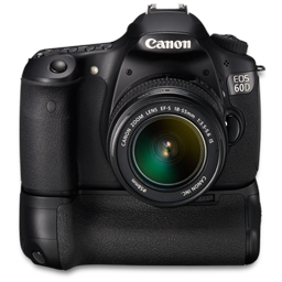 Canon 60D front up bg