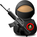 Soldier with M4A1 Carbine-128