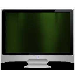 My Computer dark green