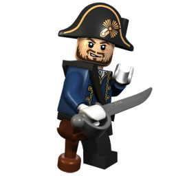 Lego Captain Barbosssa
