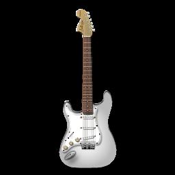 Stratocastor Guitar White