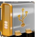 USB orange-128