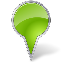 Map Marker Bubble Chartreuse