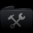 Folder black utilities-128