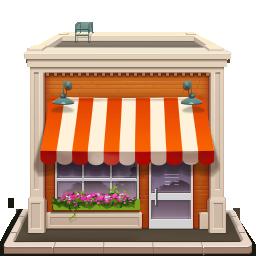 Shop building