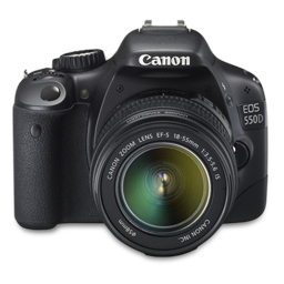 Canon 550D front up
