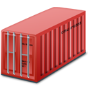 Container red-128