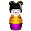 Geisha korea pink icon