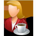 Person Coffeebreak Female Light-128
