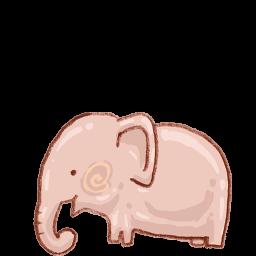 Recycle Bin Elephant Empty