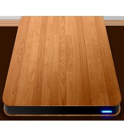 Wooden Slick Drives External