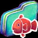 Fishy Green Folder-128