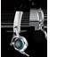 Headphones with microphones icon