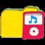 Folder y ipod icon