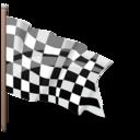 Checkered flag-128