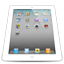 iPad 2 White Perspective Icon