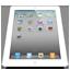 iPad 2 White Perspective icon