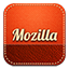 Mozilla retro icon