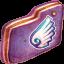 Wing Violet Folder icon