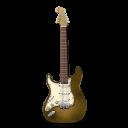 Stratocastor Guitar Orange Bright-128