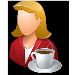 Person Coffeebreak Female Light