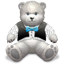 Gift Grey Bear icon
