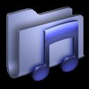 Music Blue Folder-128